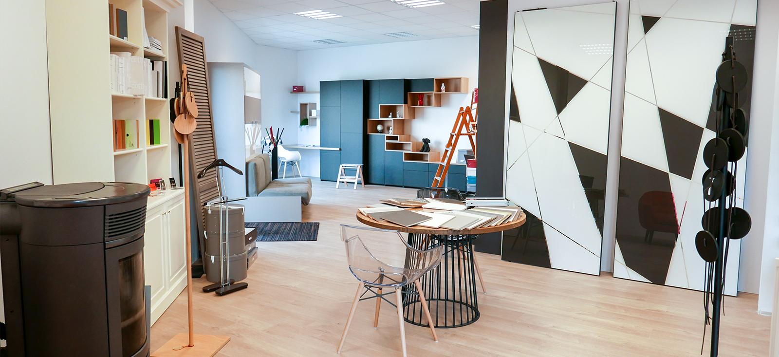 Notre showroom agencement dressing à Saint-Malo
